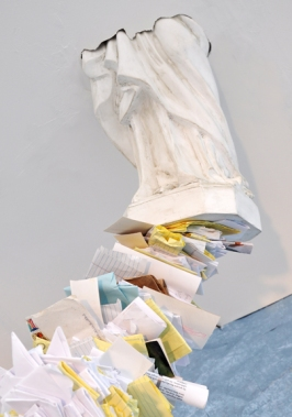 The more you honor Me, the more will I bless you (detail). Installation. BOX13 ArtSpace. Houston, TX. 2012